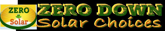 Zero Down Solar Choices Logo